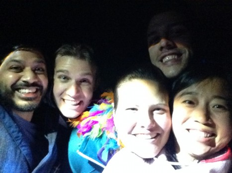 Flashlight selfie!